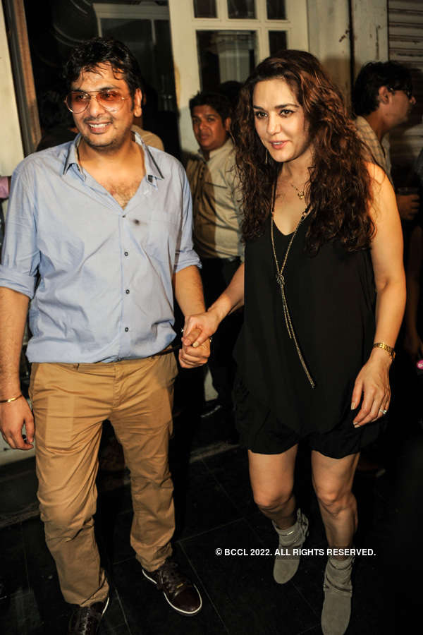 Celebs @ Mukesh Chhabra's b'day party