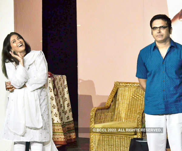 Lubna Salim and Harsh Chhaya during Photogallery - Times of India