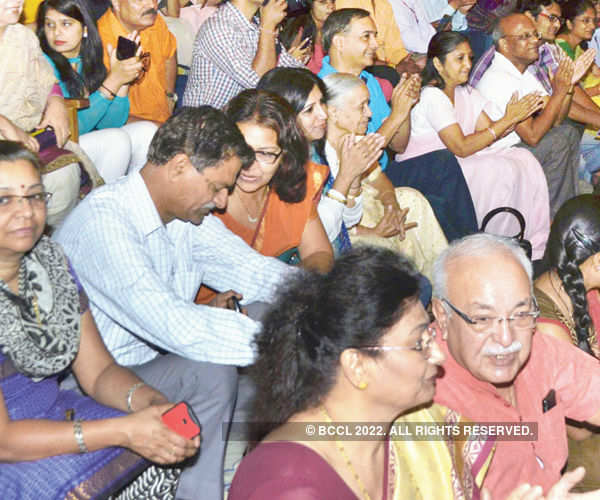 Audience during the show Photogallery - Times of India