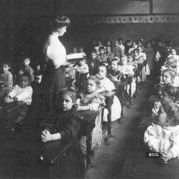 Unlike today, American classroom use to be ful