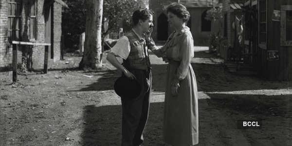 World-renowned author Helen Keller met Charlie Chaplin