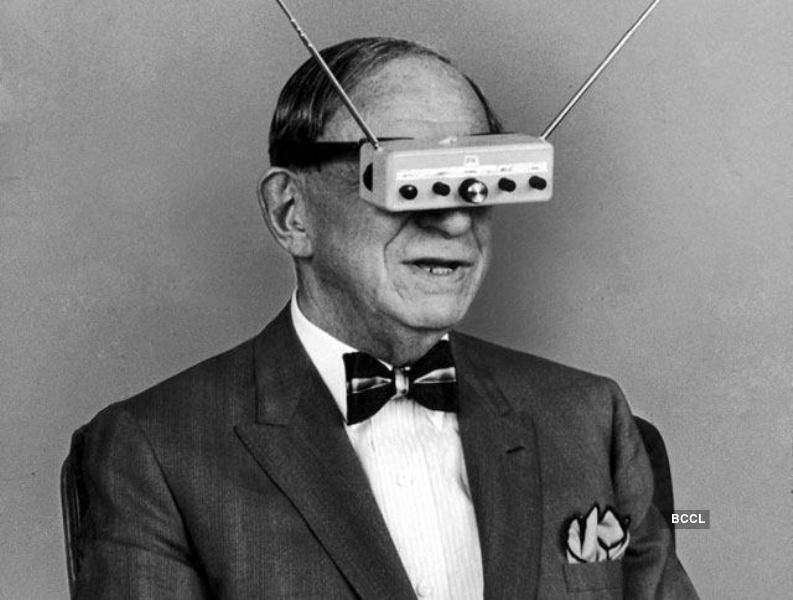 Google Glass hit the market in 2014, whereas Hugo Gernsback invented Television Goggles