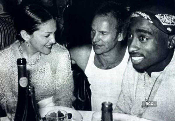 A rare photo of three legendary artists