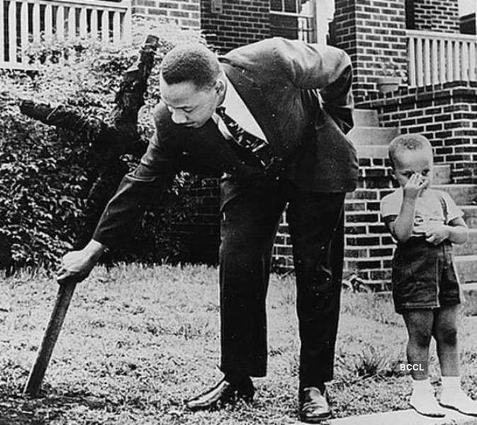 Martin Luther King was deeply inspired by Mahatma Gandhi