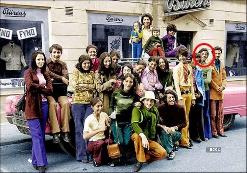 Osama bin Laden on a vacation