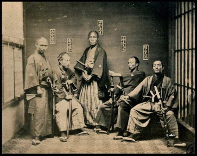 Samurais were also known as bushi