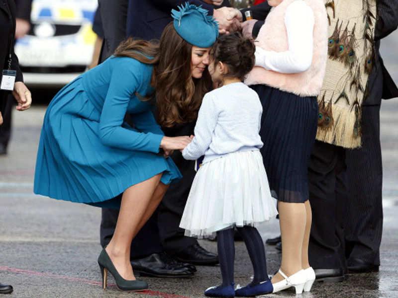 Royals Receiving Hongi