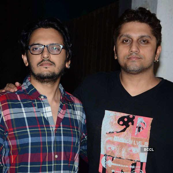 Vishesh Bhatt poses with Mohit Suri  Photogallery - Times of India