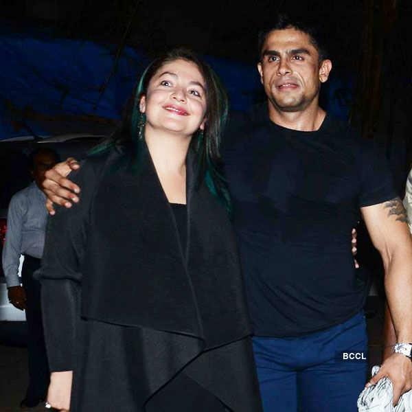Pooja Bhatt and Rahul Bhatt attend the special
