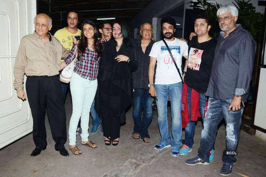 Celebs pose for a photo during the special Photogallery - Times of India