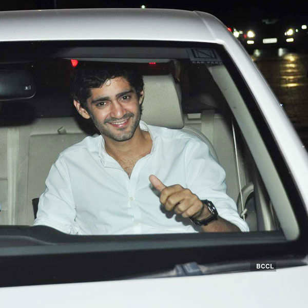 Gaurav Kapoor attends the special screening Photogallery - Times of India