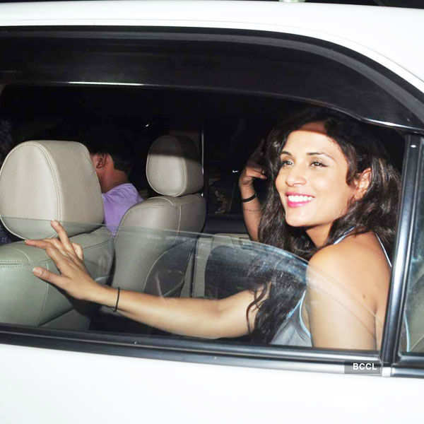 Richa Chadha arrives for the special screening Photogallery - Times of India