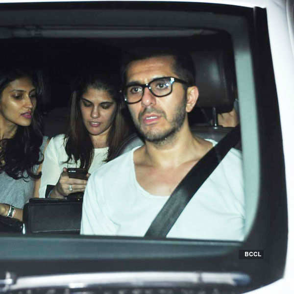 Ritesh Sidhwani arrives for the special screening Photogallery - Times of India