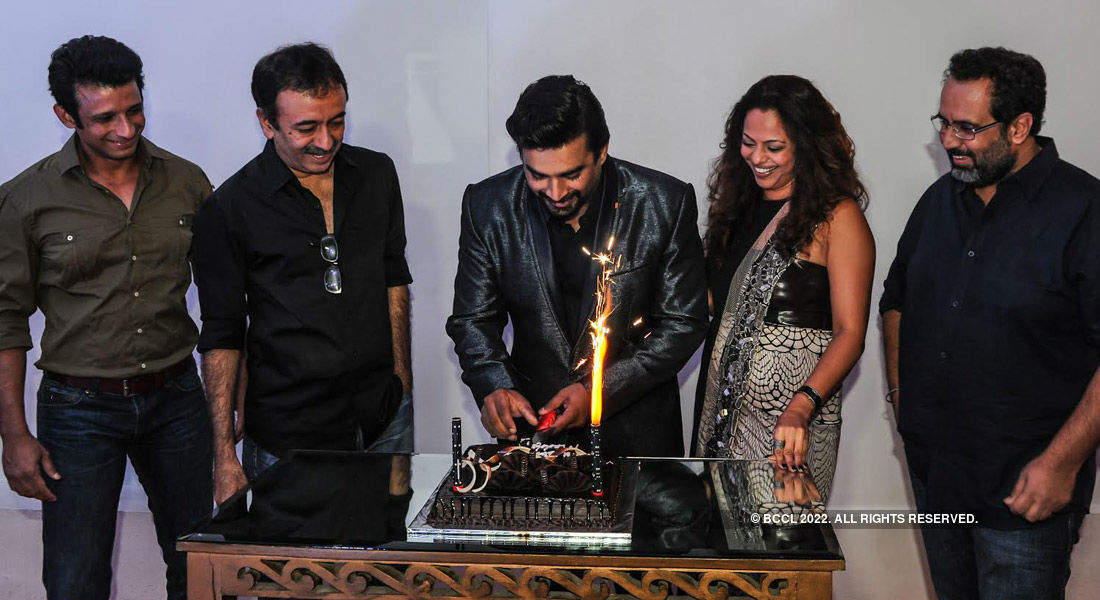 R Madhavan's birthday party