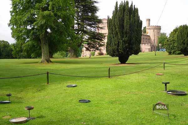 Edinburgh's Dalhousie Castle