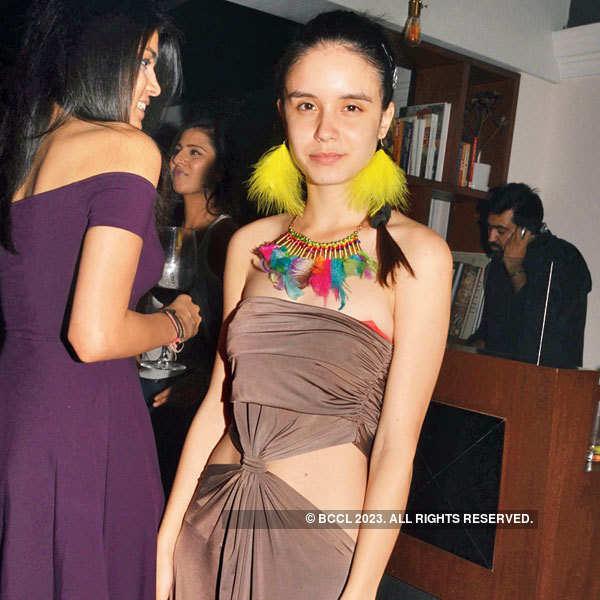 Priyank Sukhija's cocktail party