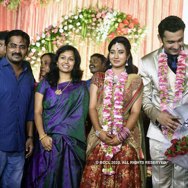 Arulnithi and Keerthana's wedding ceremony