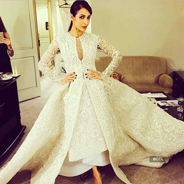 Divas in International Designer Dresses
