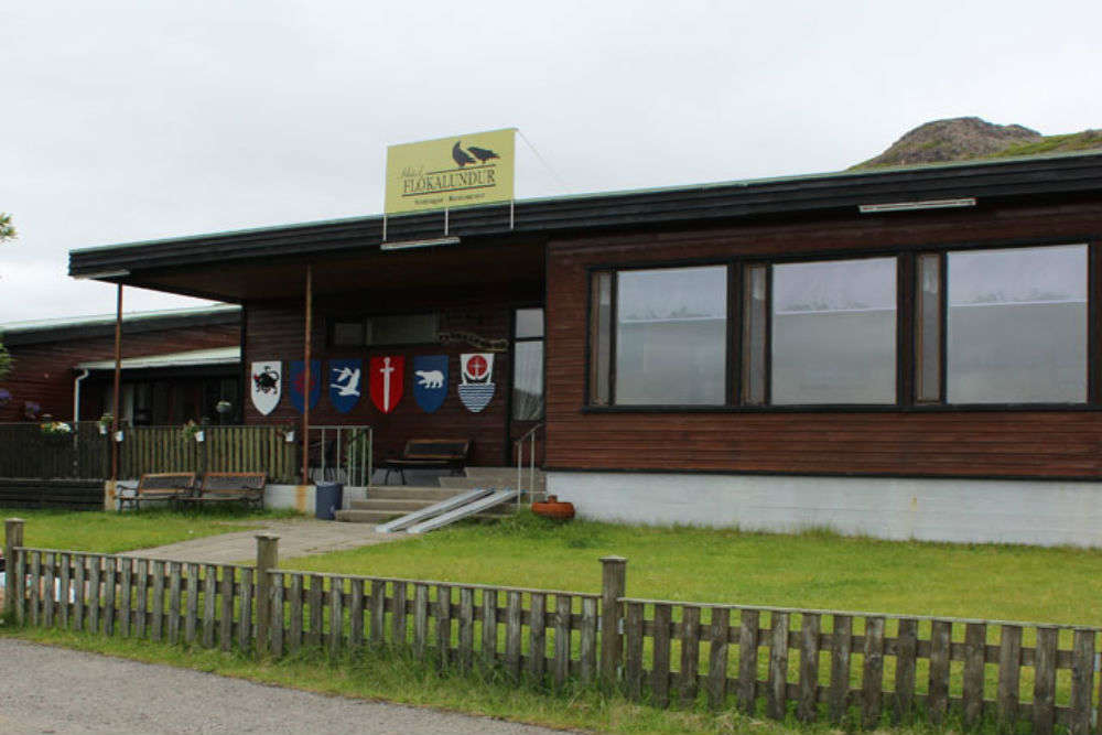 Hotel Flokalundur and camping site