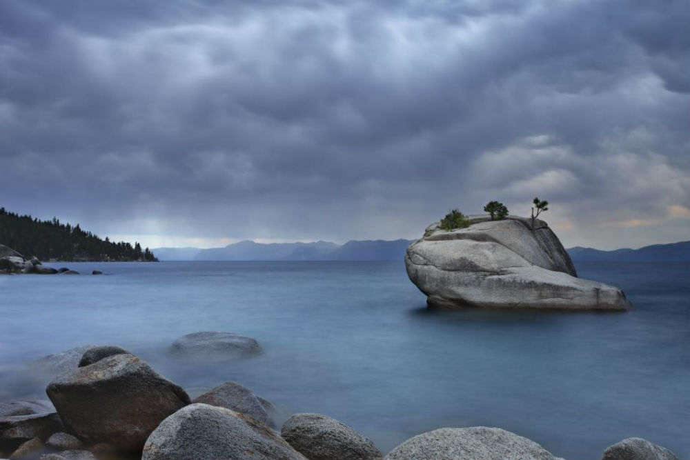Bonsai Rock in Sand Harbor
