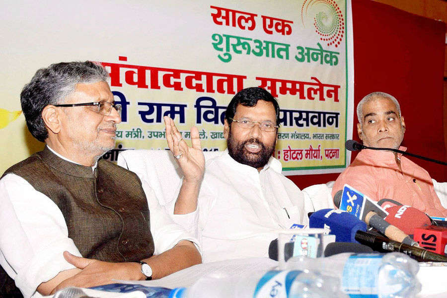 BJP starts Bihar campaign, gets Manjhi as ally