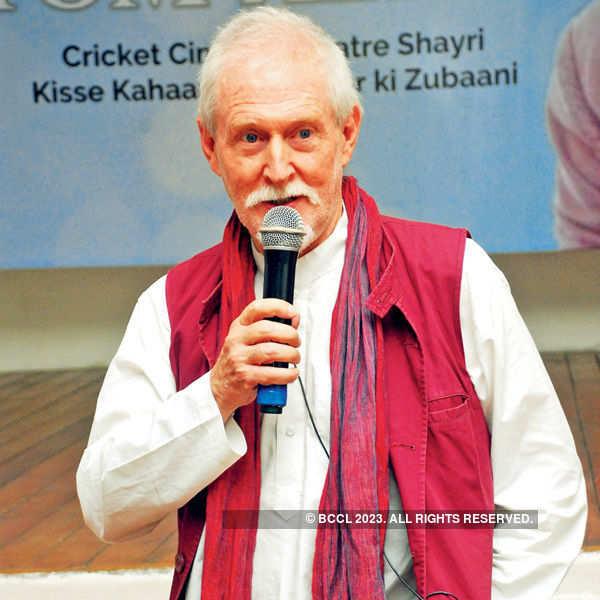 Tom Alter visits Lucknow