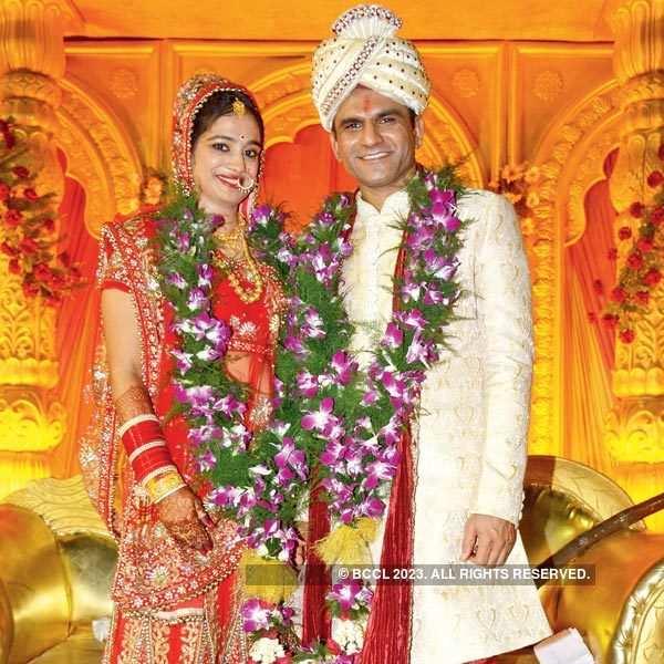 Srishti & Kirit's wedding ceremony