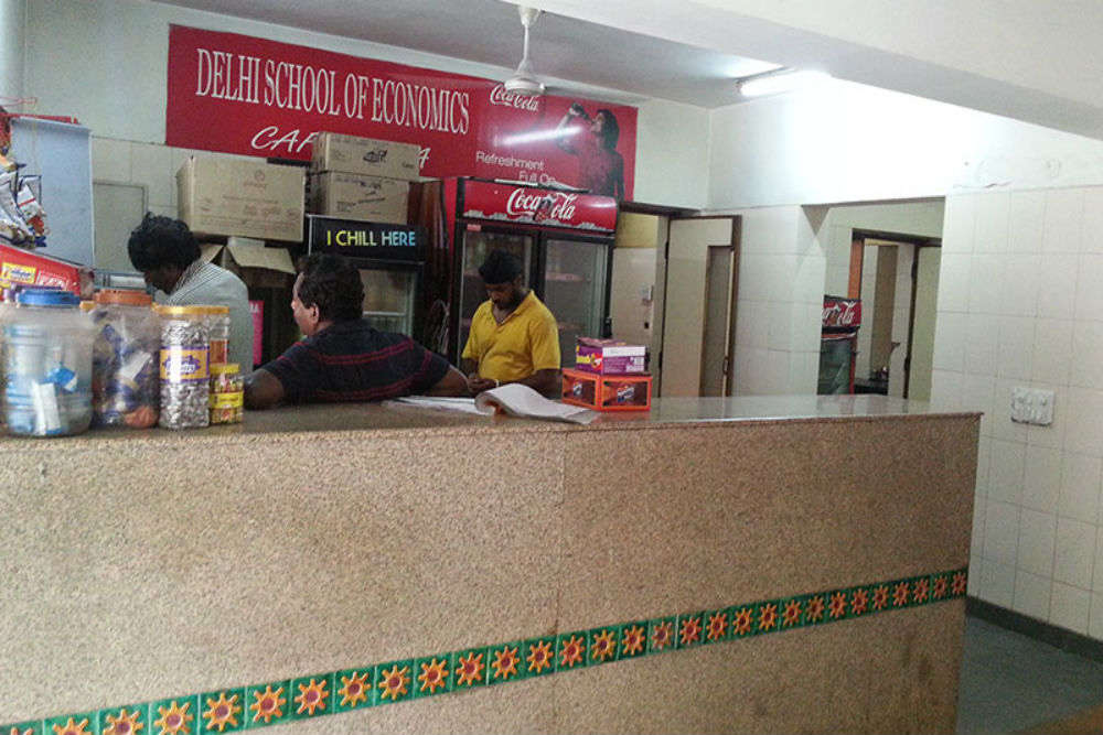Delhi School of Economics Canteen