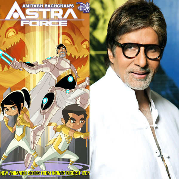 Indian comics stars: B'wood avatars