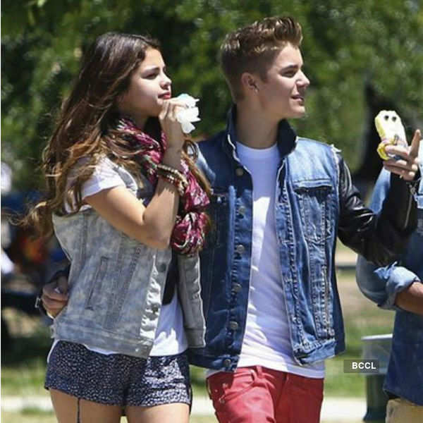 Selena Gomez were spotted eating ice cream
