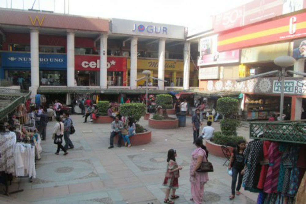 District Centre Market Janakpuri