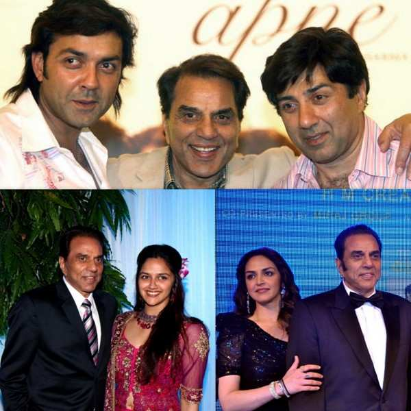 Yesteryear actor Dharmendra has four children from his first wife