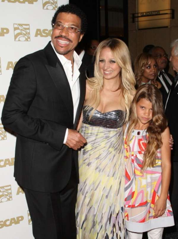 Singer Lionel Richie's adopted daughter Nicole Richie has her own show
