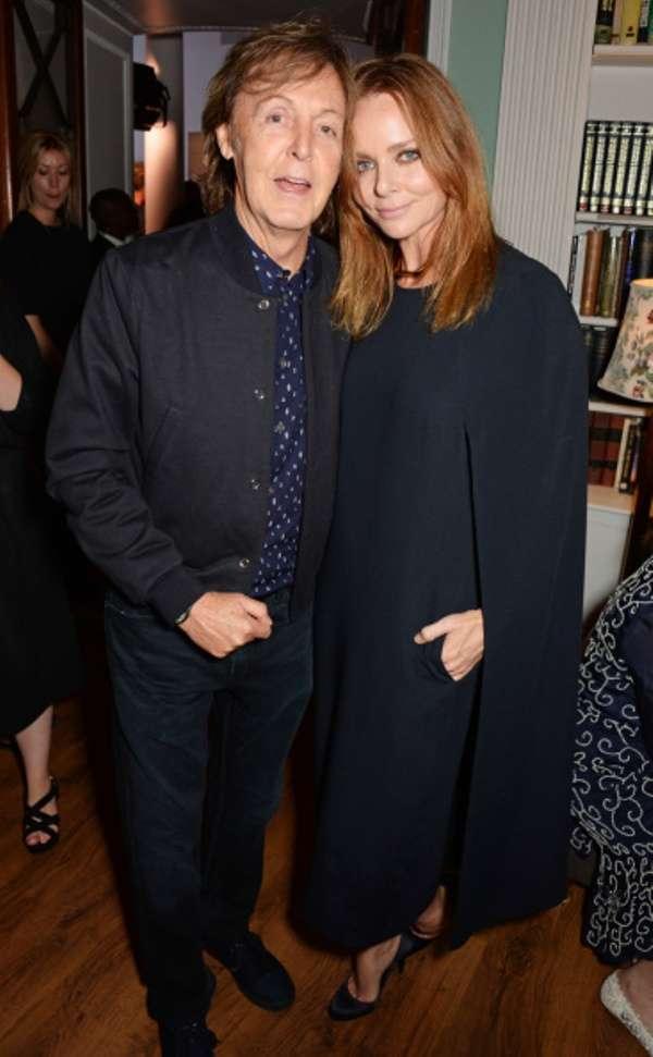 The Beatles' former singer Paul McCartney is proud of her designer daughter Stella McCartney