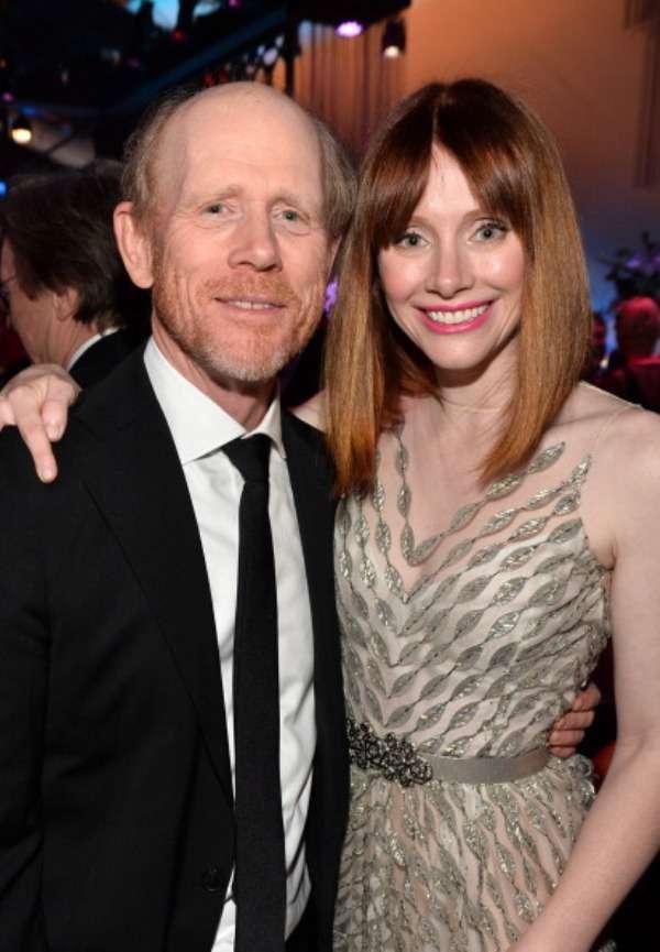 Director Ron Howard gave his daughter Bryce Dallas Howard