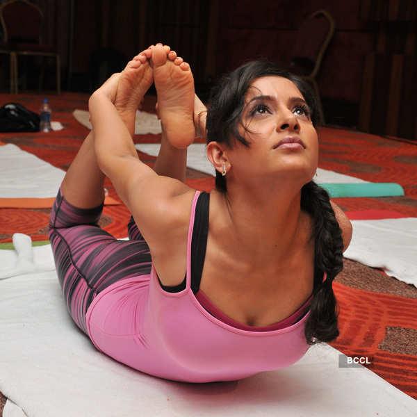 Celebs @ International Yoga Day