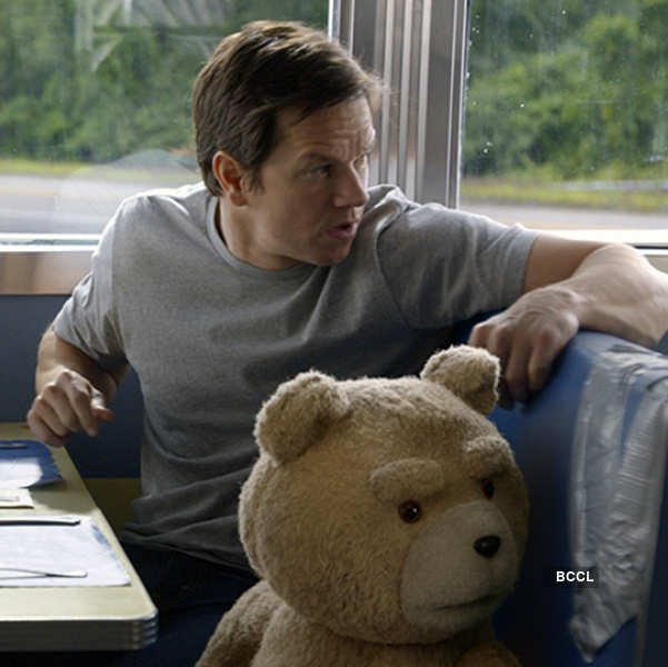 Mark Wahlberg in a still from Hollywood film Ted 2