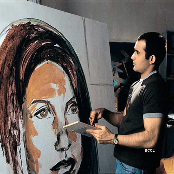 Akshaye Khanna portrayed a young artist