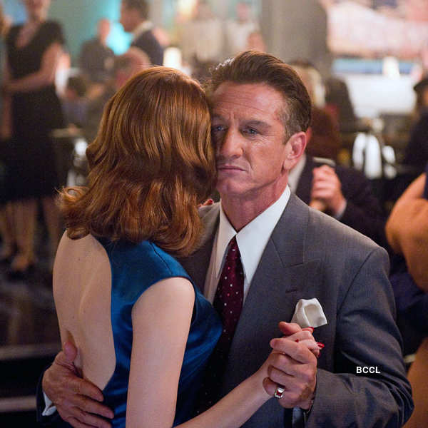 Emma Stone was oddly paired with Sean Penn