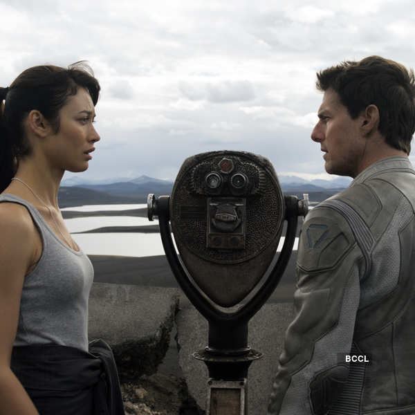 Tom Cruise was in his fifties, when paired opposite a thirty-three year old Olga Kurylenko