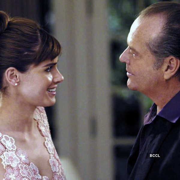Jack Nicholson and Amanda Peet make an odd on-screen couple