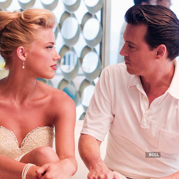 Johnny Depp was twenty-three years older than his on-screen love interest