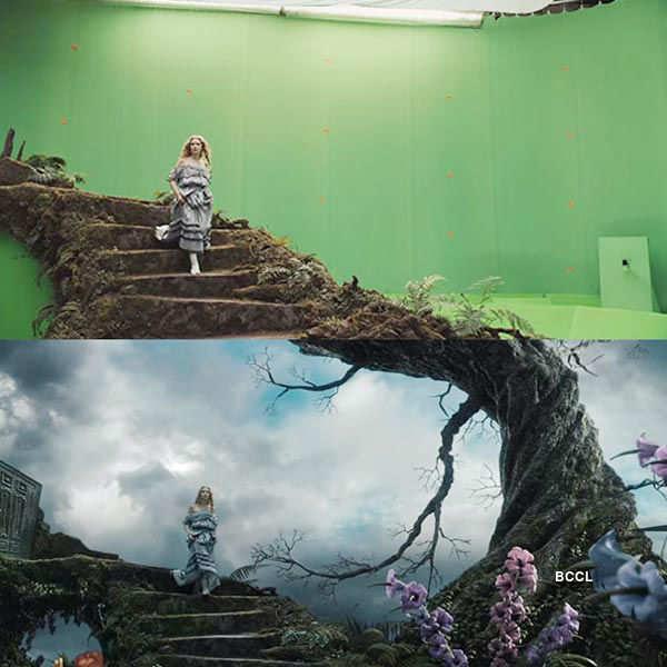 In the movie Alice In Wonderland