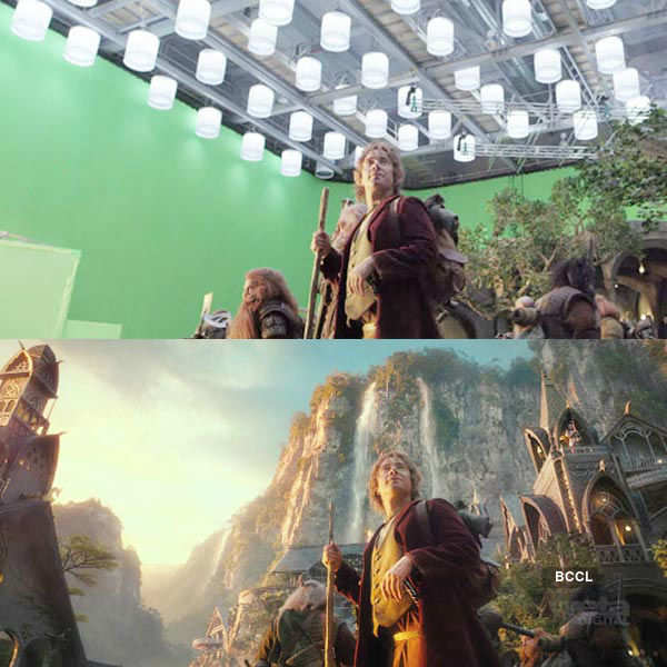 Check out the original scene from the movie Hobbit
