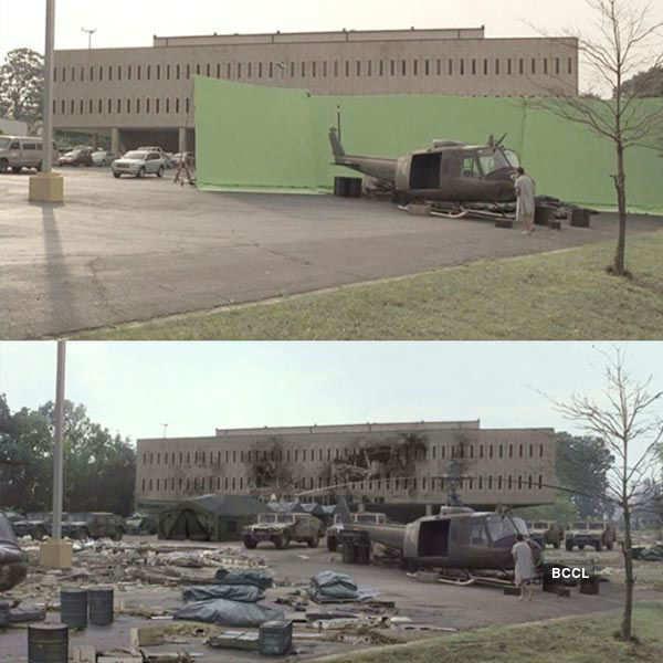 Few shots from The Walking Dead series
