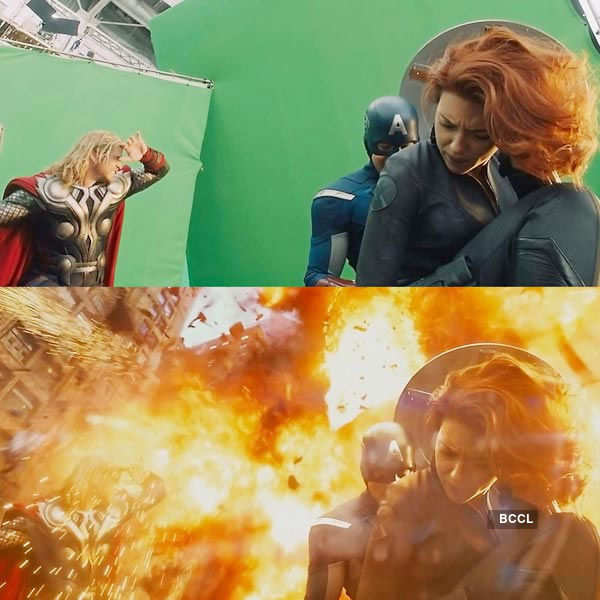 Hollywood movie Avengers filmed most of the stunt scenes