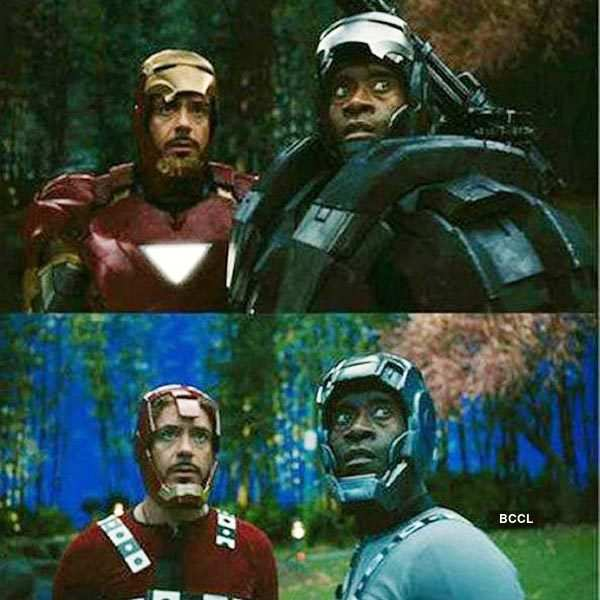 Apparently, Iron Man costume in Avengers