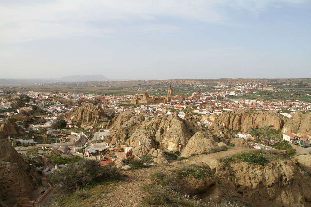 Cave houses of Guadix