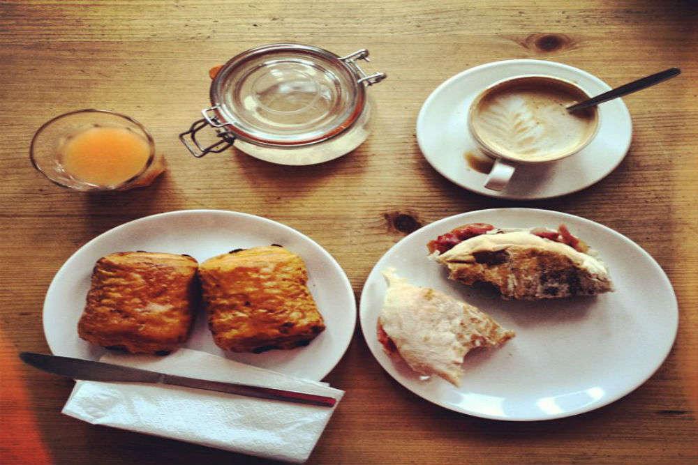 Breakfast at Flurys