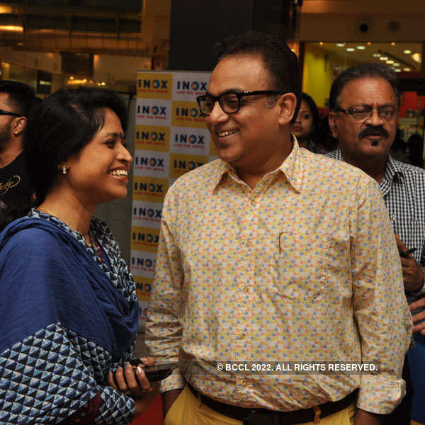 Starry Premiere of Roga Hoar Sohoj Upay at Inox